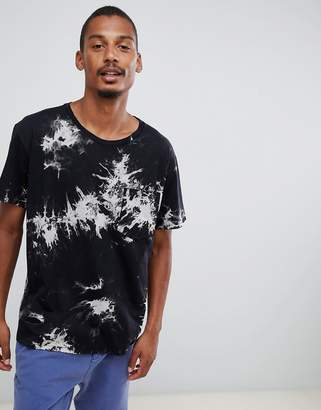 Dr. Denim Archer t-shirt in black
