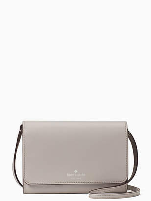 Kate Spade Kerri Small Flap Wallet On A String, Soft Taupe