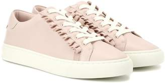 Tory Sport Ruffle leather sneakers