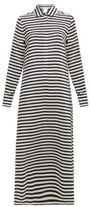 Max Mara Oste Shirtdress - Womens - Black White