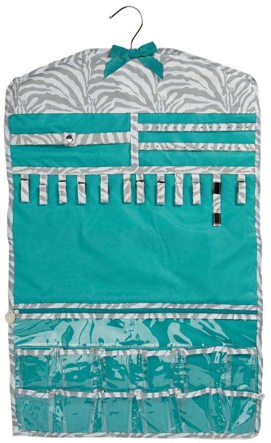 Tricoastal Design 'Gray Zebra' Hanging Organizer