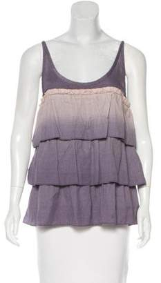 Marc by Marc Jacobs Ruffle-Trimmed Sleeveless Top