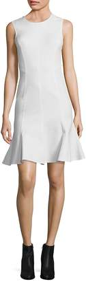 Derek Lam 10 Crosby Women's Back Cut-Out Fit-and Flare Dress