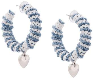Dannijo Lou hoop earrings