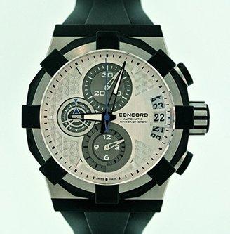 Concord c1 – ステンレススチールクロノグラフメンズ腕時計 – 新しい。 – MSRP $ 12,900