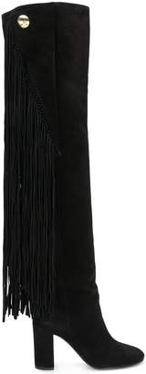 Chloé Qaisha fringed over-the-knee boots