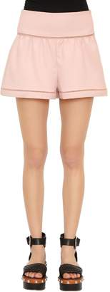 RED Valentino Cotton Blend Cady Balloon Shorts