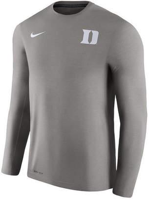 Nike Men's Duke Blue Devils Dri-Fit Touch Longsleeve T-Shirt