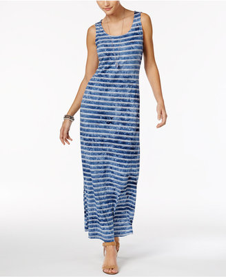 Style & Co Striped Maxi Dress, Only at Macy's $59.50 thestylecure.com