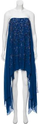 Elie Saab Silk Sequin Mini Dress w/ Tags