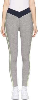 Opening Ceremony Silver Disco Sport Leggings