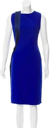 Stella McCartney Ruffle-Trimmed Knee-Length Dress Ruffle-Trimmed Knee-Length Dress