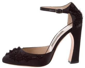 Zac Posen Embellished d'Orsay Pumps w/ Tags