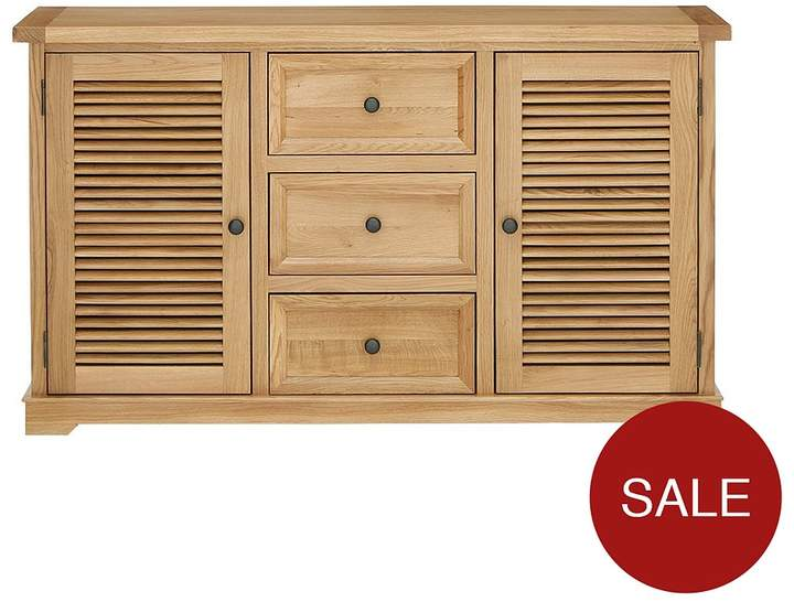 Luxe Collection - Hastings Oak Ready Assembled Large Sideboard