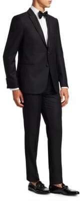 Emporio Armani Modern Fit Wool Blend Tuxedo