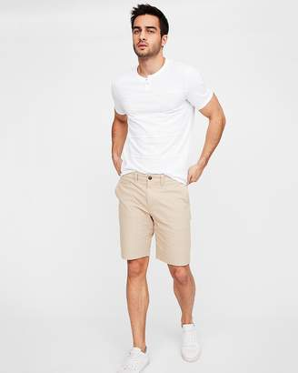 Express Slim 9 Inch Textured Stretch Shorts