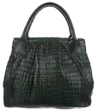 LAI Crocodile Tote Bag