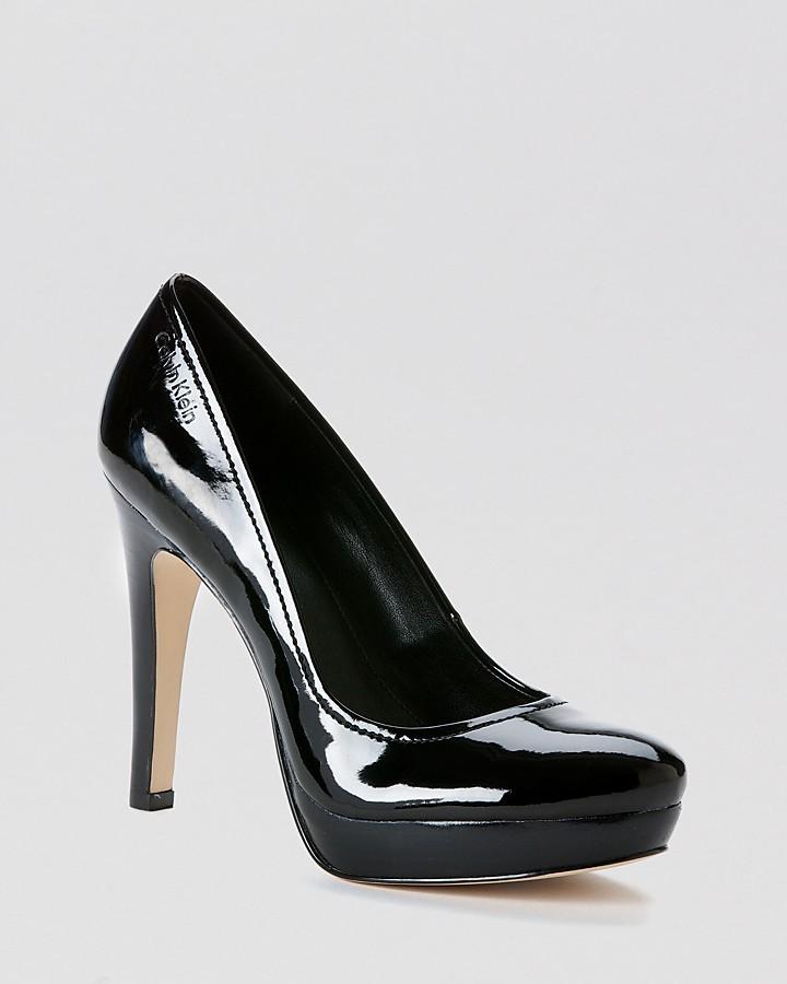 Calvin Klein Platform Pumps - Kendall High Heel