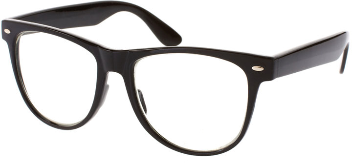 ASOS Retro Clear Lens Geeky Specs