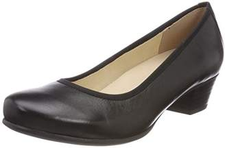Caprice Women's 22300 Closed Toe Heels, (Black Nappa 22)