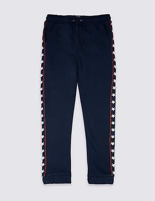 Marks and Spencer Cotton Rich Joggers (3-16 Years)