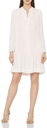 Reiss Sylvan Pleated Shirt Dress