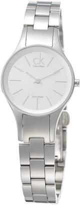 Calvin Klein Women's Simplicity K4323185 Stainless-Steel Quartz Watch with Dial
