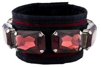 Miu Miu Crystal Wrap Bracelet