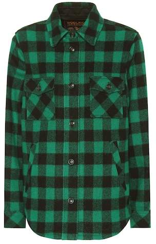 Exclusive to Mytheresa – checked wool-blend jacket