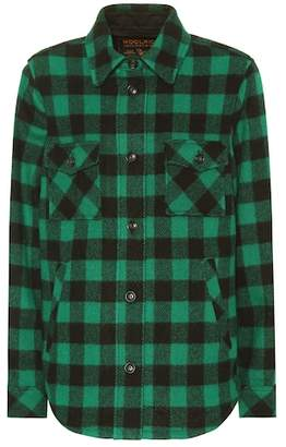 Woolrich Exclusive to Mytheresa – checked wool-blend jacket