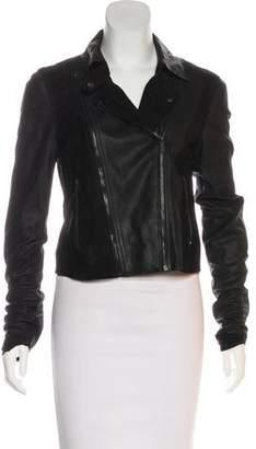 Paige Suede Zip-Up Jacket