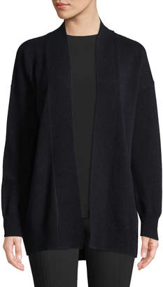 Vince Wool-Blend Drop-Shoulder Cardigan