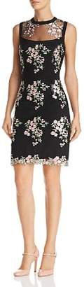 Nanette Lepore nanette Floral Embroidered Dress