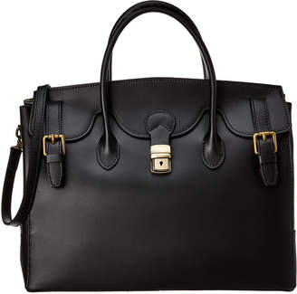 Zoya Lisa Minardi Leather Satchel