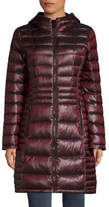 "Calvin Klein Petite 34"" Walker Packable Jacket"