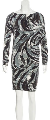 Emilio PucciEmilio Pucci Printed Oversize Dress