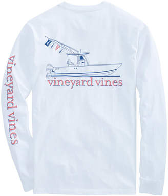 Vineyard Vines Long-Sleeve Sportfisher Pocket T-Shirt