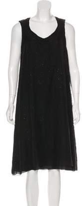 Nina Ricci Sleeveless Embellished Dress