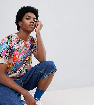 Asos MADE IN Made In Kenya x 2ManySiblings T-Shirt In Mixed Print