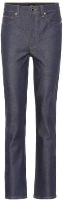 KHAITE The Victoria high-rise jeans