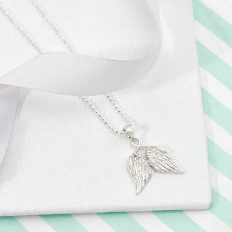 Tales From The Earth Angel Wings Necklace For Girls