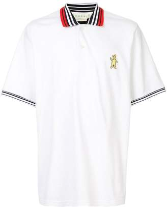 Marni logo polo shirt