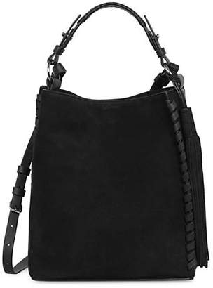 AllSaints Kepi Lea Shoulder Bag
