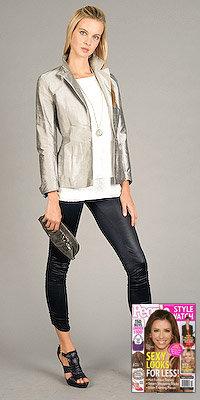 Metallic Silver Jackets by eDressMe