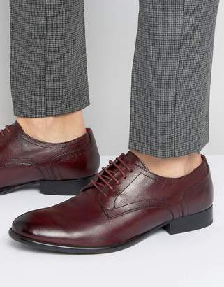 Base London Ford Leather Derby Shoes