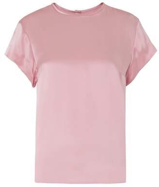 Kitri Olivia Pink Silk T-shirt