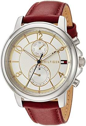 Tommy Hilfiger Women's 'Sophisticated Sport' Quartz Stainless Steel and Leather Casual Watch