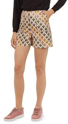 Ted Baker Colour by Numbers Tedda Heart-Print Shorts