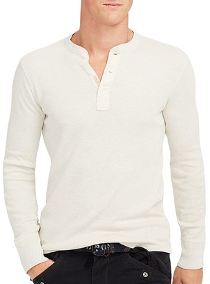 Polo Ralph Lauren Military Thermal Henley - 100% Exclusive $98.50 thestylecure.com