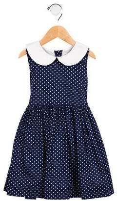 Rachel Riley Girls' Polka Dot A-Line Dress